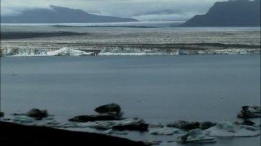 Aerial Alaskan National Park Landscape — Stock Video