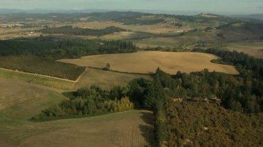 Oregon Farming crops agricultural Landscape — Stockvideo