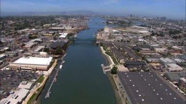 Oakland Port San Francisco — Vídeo stock