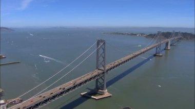San Francisco Oakland Bay Bridge — Stock Video