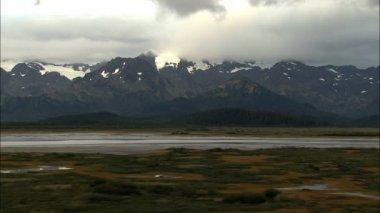 Aerial Alaska Mountains National Park — Stock Video