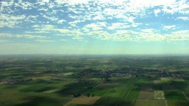 Idaho farming crops vegetation field — Stock Video