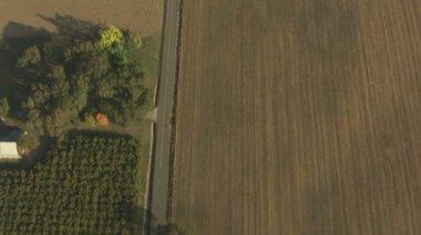 Oregon Farming crops agricultural Landscape — Stock Video