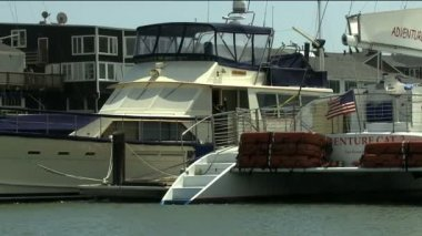 San Francisco Fishermans Wharf Pier — Stock Video