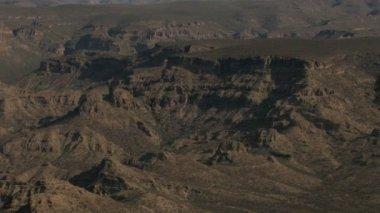 Aerial Baja California desert Wilderness — Stock Video