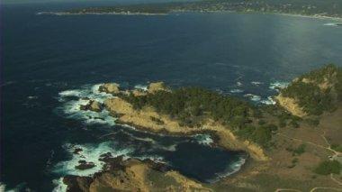 California coastline nature Landscape — Stock Video