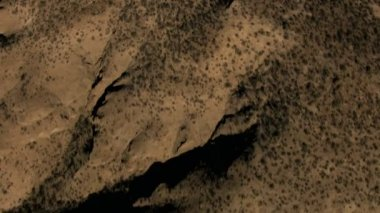 Baja California desert Sur Mexico Plateau — Video Stock