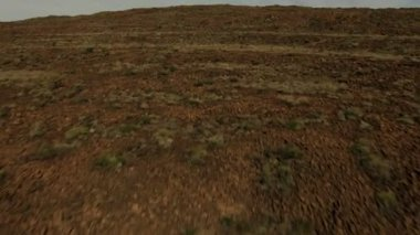 Baja California barren arid desert nature — Stock Video