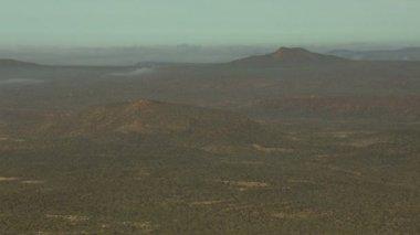 Aerial Baja California desert Wilderness — Wideo stockowe