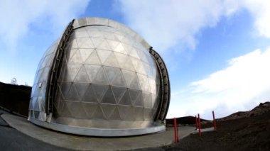 Remote astronomi vetenskap observatory — Stockvideo