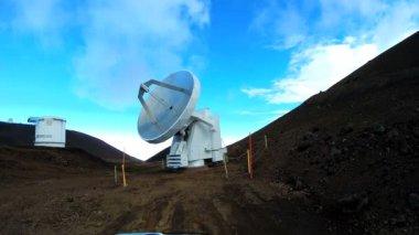 Remote astronomi vetenskap observatorium optiska antenn — Stockvideo