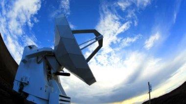 Scientific research terrestrial meteorology satellite — Stock Video