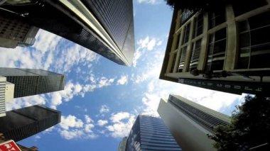 Los Angeles vertical Skyscrapers — Stock Video