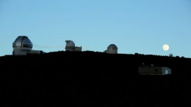Astronomy Planets Sky Infra Red Surveillance Equipment — Stock Video