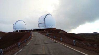 Driving Astronomy Planets Sky Observatory — Stock Video