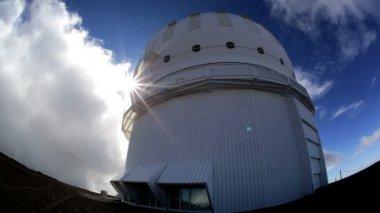 Osservatorio astronomico del cielo di pianeti — Video Stock