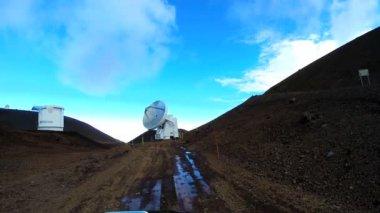 Astronomical Research Facility Satellite Telescope — Stock Video