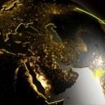 3D business communication globe motion graphics — Stock Video #76335521