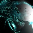 3D business globe motion graphics — Stock Video #76336127
