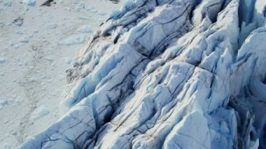 Ice Meltwater Glacier Icefjord Greenland — Stock Video
