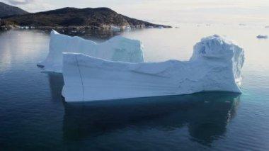 Ilulissat Icefjord Disko Bay Groenlandia — Vídeo de Stock