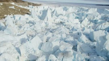 Greenland Melting Polar Icecap — Stock Video