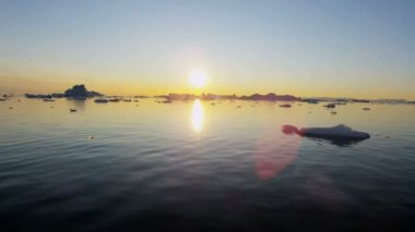 World Heritage Site Disko Bay — Stock Video