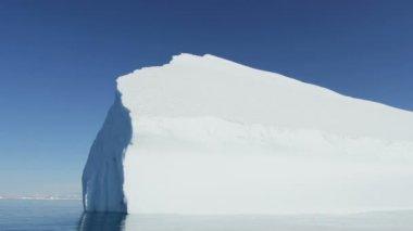 Greenland Ilulissat Icefjord ice mass — Stock Video