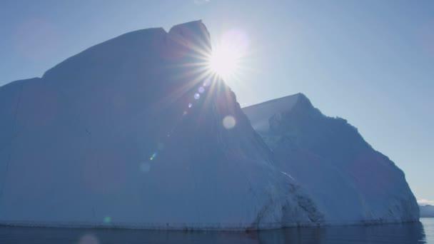World Heritage Site Disko Bay Groenlandia — Vídeo de stock