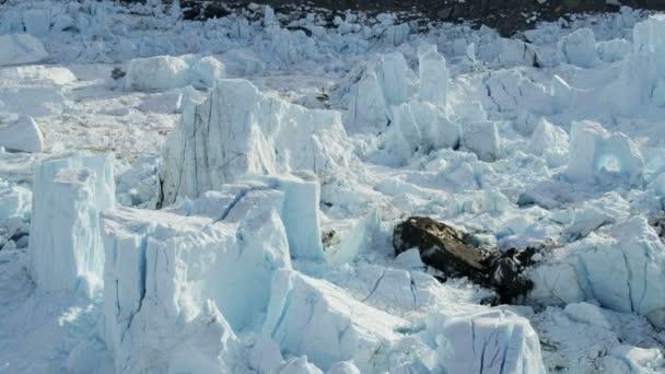 Eqi Glacier Greenland Landscape — Vídeo de stock