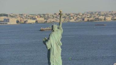 New York  Statue of Liberty — Stock Video