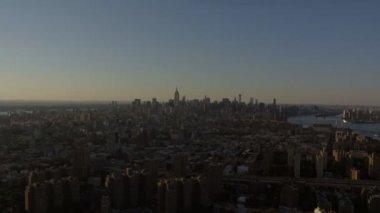 New York Midtown Manhattan skyscrapers — Stock Video