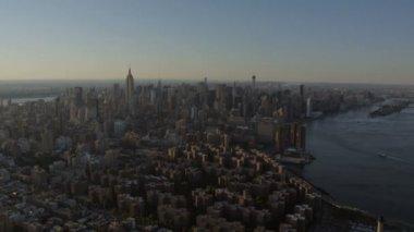 Manhattan Empire State Building New York — Stockvideo