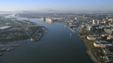 Docks Oakland Port San Francisco — Stock Video