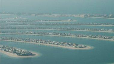 Frondes de Dubaï Palm Jumeirah Island — Vidéo