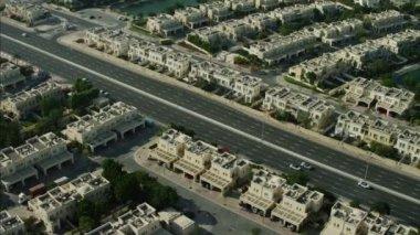 Dubai luxury homes Emirates Hills — Stock Video