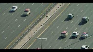 Dubai City Sheikh Zayed Road — Video Stock