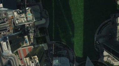 Ville de Dubaï appartement luxueux gratte-ciels — Vidéo