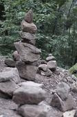 Stone pyramid — Stockfoto
