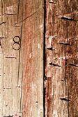 Velho contexto de madeira — Fotografia Stock