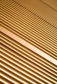 Stripped texture. Metal background — Stock Photo