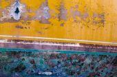 Painted ply wood — Foto de Stock