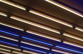Neon tubes light — Stock fotografie