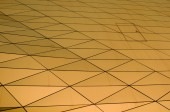 Geometric metallic tiles — Stock fotografie