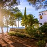 Sea Villa with garden — Stock Photo #57085437