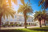 Hotell vid Adriatiska kusten — Stockfoto