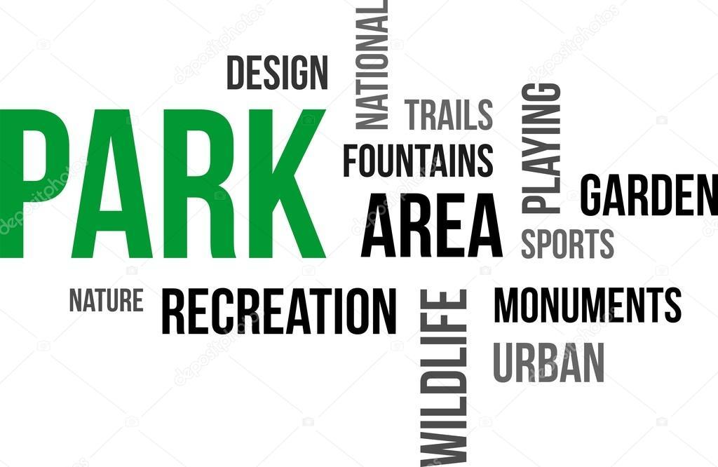 Слова связанные с парком