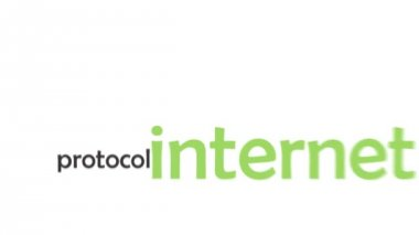 Kinetic typography - internet — Stock Video
