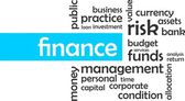 Word cloud - finance — Vecteur
