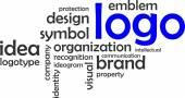 Word cloud - logo — Stock Vector